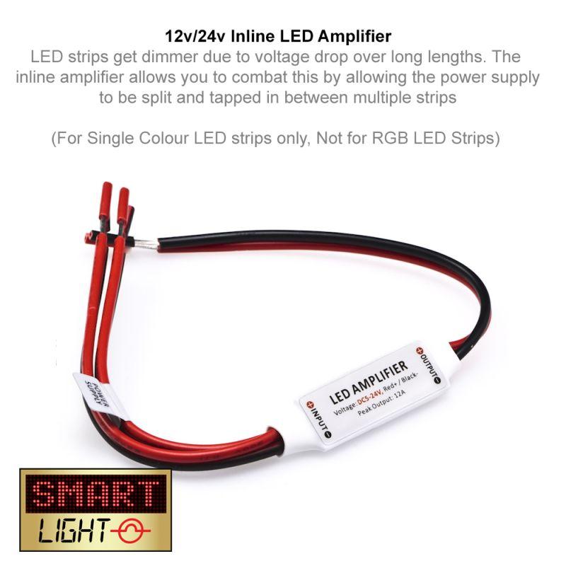 12V/24V Inline LED Amplifier