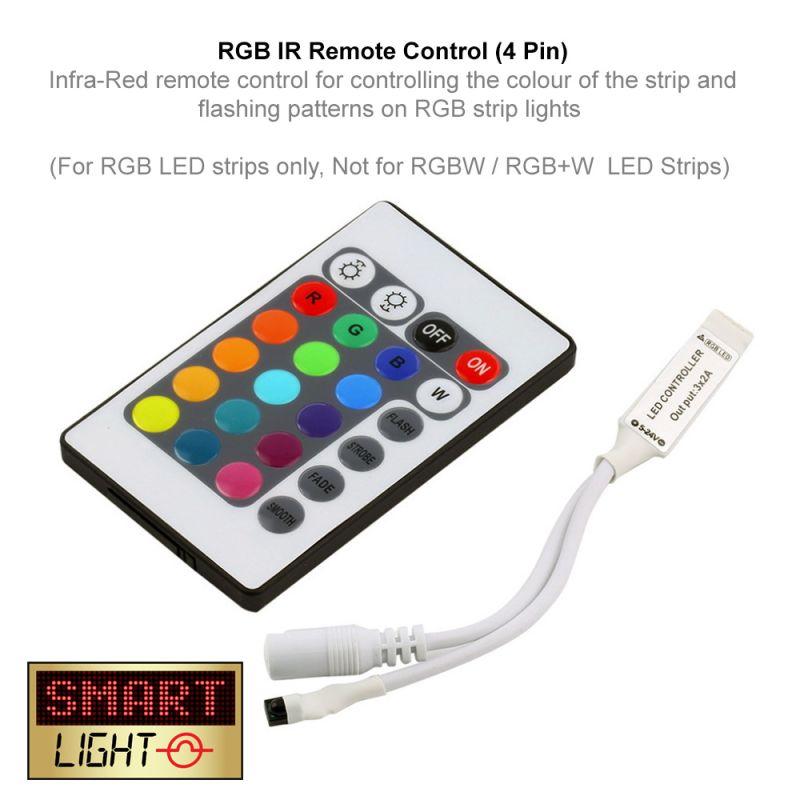 IR Remote Control for RGB LED Lights