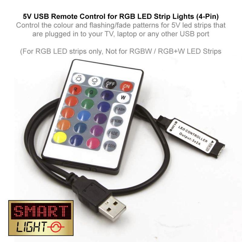 USB 5V IR Remote Control