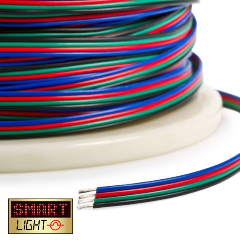 2M RGB Extension Cable Wire